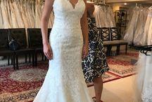 Emily's wedding dresses
