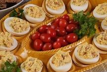 deviled eggs / by Jeannine Hrovat