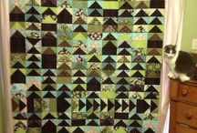 Quilts made by friends or me - artists at heart / by Debbie Wallace