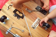 lock/hinge/latch board