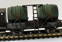 Tehervagon modellek / by Vasútmodell-Centrum
