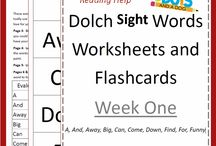 Dolce sight words