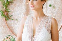 Modern Hollywood Glamour Wedding Theme / Wedding style ideas