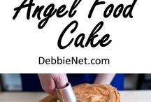Angel food cakes