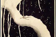 The Masterpieces of Ohara KOSON. (1877-1945) / Kacho-e (nature masterprints) of Ohara KOSON.