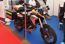 First responder motorbike