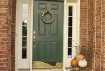 Front door and porch ideas