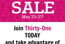 Thirty-One Outlet Sale / Shop the Thirty-One Outlet sale before it is gone. Amazing discounts on Thirty One bags and accessories for your home organization. Take advantage of this annual sale on bags, totes, and items to organize your life while saving tons of money.