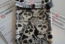 Med Alert. Epi. Inhaler - ID/Apparel