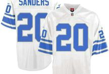 Barry Sanders Nike Elite Jersey – Authentic Lions #20 Blue White Jersey