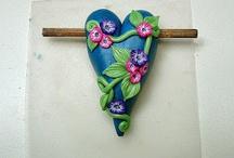 Hearts : Polymer Clay