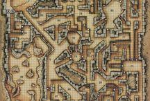 Планы подземелий