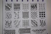 Art Doodle Tangle Pattern Index