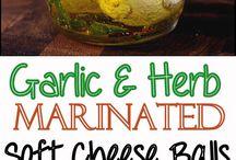 sýry,olivy a bylinky