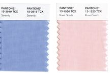 Pantone Color of the year 2016 / Pantone Color of the year 2016, color inspirations. Rose quartz and serenity. Farbe des Jahres 2016