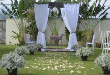 decoração de festa casamento / decoração rustica
