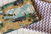 Chevy Bel Air Cars Fabric