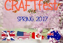 Spring #CRAFTfest 2017 / Join us for our Spring #CRAFTfest event! Online Fair, Community Networking at it's best. www.craftfest-events.com