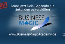 Business Magic Posts / Lerne Menschen im Geschäftsleben zu beeindrucken und zu gewinnen mit Hilfe von Business-Zaubertricks!  www.BusinessMagicAcademy.de