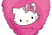 Hello Kitty dekorace na oslavu / #hellokitty#dekorace#vyzdoba#oslava#party#balloon#decoration