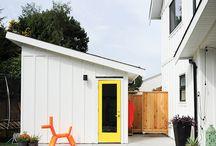 Portes colorées / Une collection de jolies portes colorées pour ajouter du style à l'extérieur de la maison.