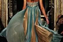 gold inspiration fashion gown