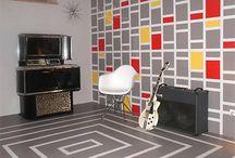 Výmalba bytu / Kreativní nápady na stěny