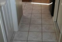 Austin Tile Cleaning / Harper Carpet Care before and after tile cleaning photos.
