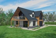 Bungalow exteriors and plans