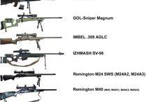 pušky-Sniper