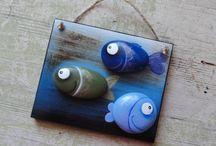 pesci con sassi