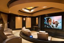 Home Theaters/ 2 Story- Homes / Homes