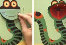 papírový had