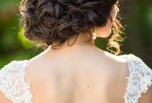 esküvős haj