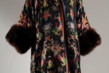 [1920s] ~ evening coats & capes
