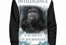 Unisex Allover Print Sweatshirts