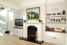 Bespoke Alcove Units by Creative Woodwork / A collection of bespoke alcove projects completed by Creative Woodwork