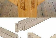 wooden tehnik