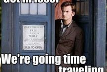For the love of Dr Who / by Marci Robison