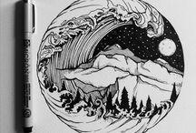 Ink Pen Art