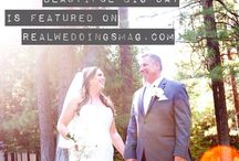 Featured Real Wedding: Melissa & John / Why do Melissa & John want a wedding do-over? Head over to the blog to find out and see their amazing photos from Shoop's Shutter Photography! While you're there, make sure to check out the girls' fabulous dresses from The Bridal Box! Follow this link NOW - http://www.realweddingsmag.com/real-weddings-wednesday-presenting-melissa-john/
