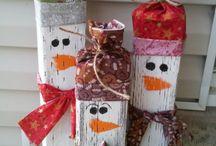 christmas crafts / by Samantha Ricca