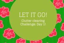 9 day Clutter Clearing Challenge!