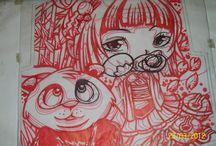 Cleiton Artes / Artes feitas por  mim ...ilustrações diversas...
