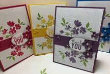cards by stamp sets