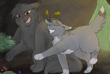 warrior cats / Thise  are the fantasy books that weren't boring. Thanks for that Erin Hunter!!!