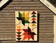 Quilts - barn