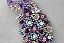 Incredible beautiful brooches
