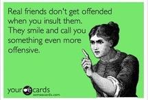 funny cuz it's true / by Tenelle Kimple