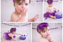 1 year birthday photo ideas :)